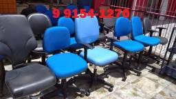 cadeira em tecido secretaria a partir de 180,00
