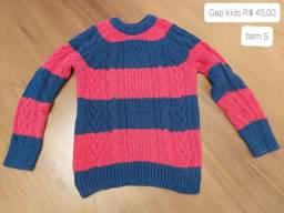 Blusão GAP Kids - tam 5