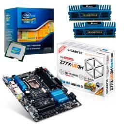 Kit Upgrade PC - Intel Core i7 3770k + Gigabyte z77x-UD3H + Corsair 4x4gb DDR3 1600mhz