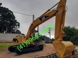 Escavadeira caterpillar ano 95 modelo 320.