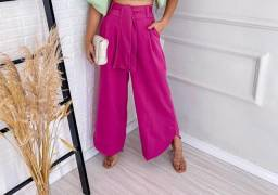 Vendo Calça Pantalona Pink