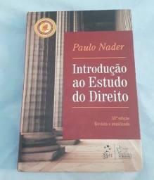 """Livro """"Introdução ao estudo do Direito"""" de Paulo Nader"""