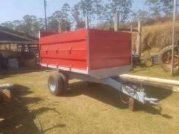 Título do anúncio: Carreta Agrícola basculante 5 ton