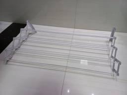 Varal sanfonado branco