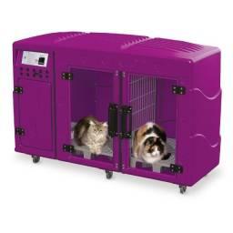 Máquina de Secar Animais Rotomoldada Kyklon Pink