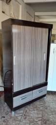Guarda roupa solteiro porta de correr usado - ENTREGO