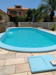 Oportunidade! Vendo casa em Marica com 3 quartos e piscina.