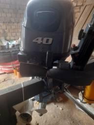 Motor yamaha 40Hp novo