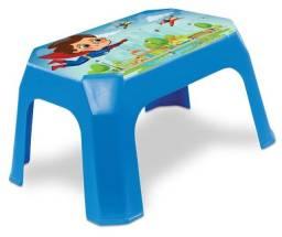 Banqueta Cadeira Infantil Azul Label 25286 RQplast