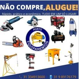 Título do anúncio: ALUGUEL DE EQUIPAMENTOS PORTO