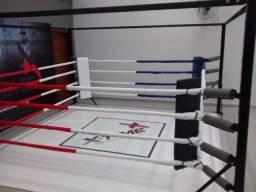 ringue de boxe  de solo 3m x 3m completo e novo