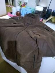 Jaqueta de couro nova nunca usada