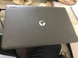 Notebook Positivo Q-232 Quad-core, 2GB ram, 32gb ssd