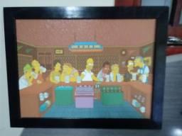 Quadro Os Simpsons - Faço Envio.