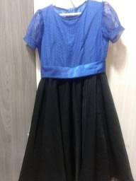 vestido social Tam 7 anos