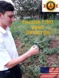 Fischer F303 Detector de Metais Ouro Tesouros