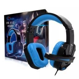 Headset Gamer FR-512 Fone gamer Fone com Microfone