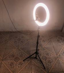 Iluminador Ring Led  Kit C/ Tripe P/ Maquiadores