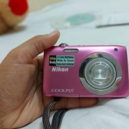 câmera digital nikon coolpix s2600