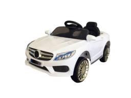 Mini carro elétrico infantil Mercedes 6v bateria com controle remoto