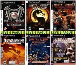 Coleção Mortal Kombat - PS2