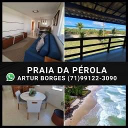 2 Quartos e Chalés 3 Quartos - Vista Mar -Praia da Pérola( 60x Sem Juros) Lindo!