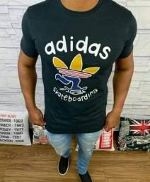 Camiseta Masculina Adidas 100% Algodão