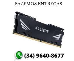 Memória Gamer Kllisre Ddr3 4gb/1600mhz 100% Testada Novo Lacrado (Fazemos Entregas)