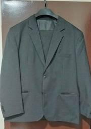 Conjunto Terno (calça e blazer) masculino, azul e preto grande