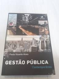 Gestão Pública Contemporânea - Paulo Vicente Alves