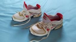 Tênis Nike Air Max LTE 2 - Branco+Vermelho (N° 41) N° 4
