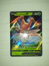 Carta Pokémon Full Arte - Kricketune V
