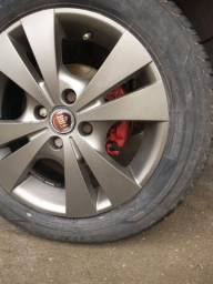 Troco rodas aro 15 em 16 ou 17