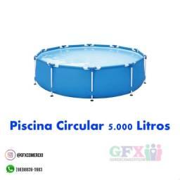Título do anúncio: Piscina circular 5 mil litro estruturada