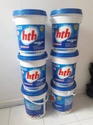 Balde de cloro hth
