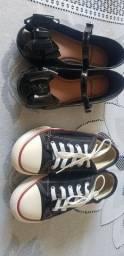 Vendo sapatos infantil semi novos (feminino)!