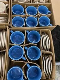 Promoção de jogo de xícaras 12 peças estar 80 reias