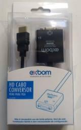 Vendo adaptador conversor HDMI para VGA