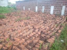 Desconto de 70% em telhas usadas
