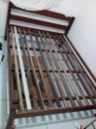 Cama casal madeira