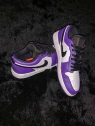 Air jordan low curt purple 2.0