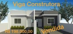 50945- Casa 2 dormitórios, em Sapucaia, 2 vagas para carro e amplo pátio, concl. mar/21