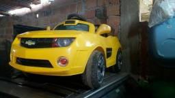 Mini camaro infantil elétrico carro brinquedo