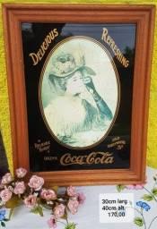 Antigo quadro da Coca Cola
