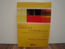 Coleção: Livros Curso de Direito Comercial / Volumes 1 - 2 / Autor: Rubens Requião