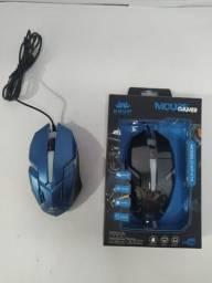 Mouse Gamer Knup com fio