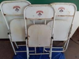 Cadeiras de bar, antigas, 3 un.