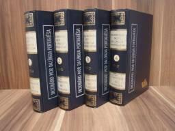 Coleção 4 Volumes Dicionário MOR da Língua Portuguesa / Ano: 1.967