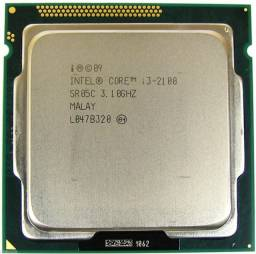Processador Intel Core i3 2100 3.10GHz LGA 1155 - Aceito cartão