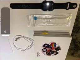 Relógio Smartwatch Iwo 13 Pro Gps Tela Infinita 3 Pulseiras